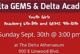 Delta Academy/GEMS Parent Signup