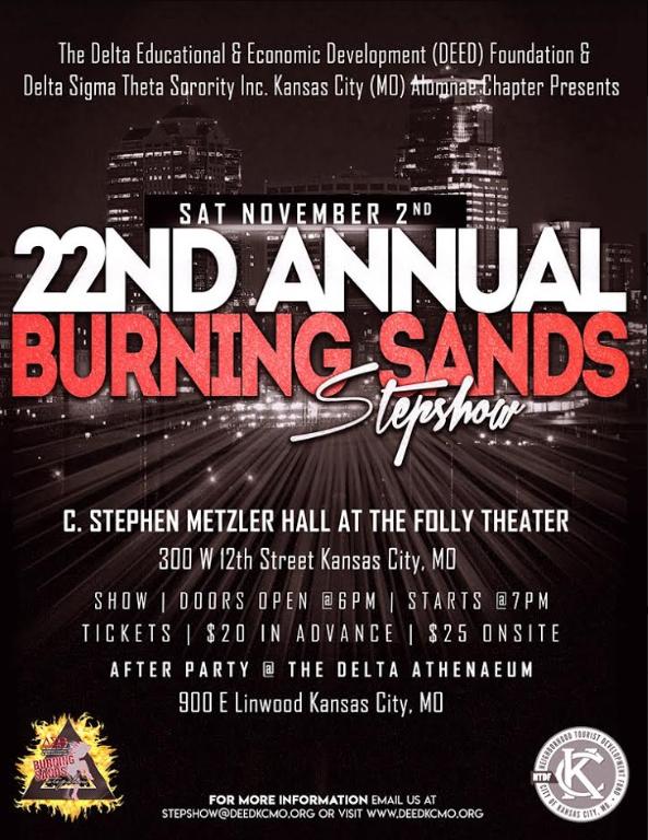 Burning Sands Step Show